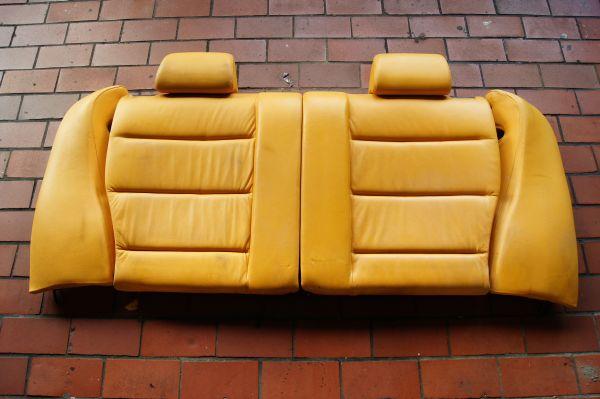 bmw e36 compact individual lederausstattung maisgelb. Black Bedroom Furniture Sets. Home Design Ideas